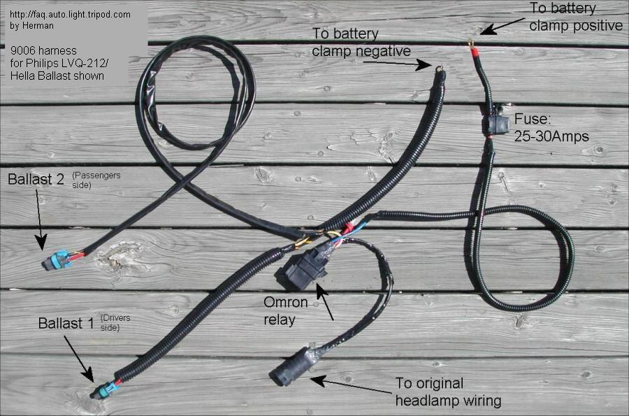 hid harness single filament photo headlight hid wiring harness! page 2 honda tech honda forum honda civic headlight wiring harness problem at readyjetset.co